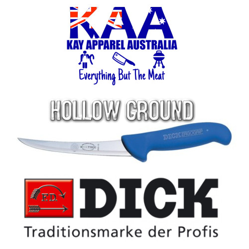 "F.Dick 6"" ErgoGrip Boning Knife Hollow Ground 8 2991 15 HG"