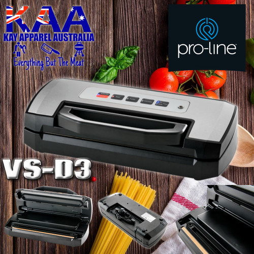 ProLine VS-D3 VACUUM FOOD SEALER - DOMESTIC FOOD SAVER MACHINE