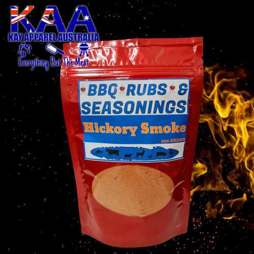 BBQ Rubs, Hickory Smoke BBQ Rub Glaze 200 Grams