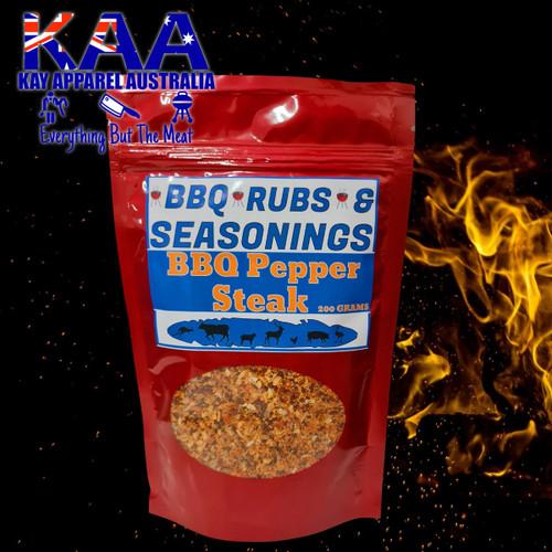 BBQ Rubs, Pepper Steak BBQ Rub Sprinkle 200 grams