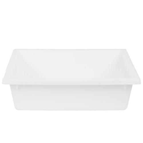 NALLY No.4 TUB CRATE WHITE, 13.5 L