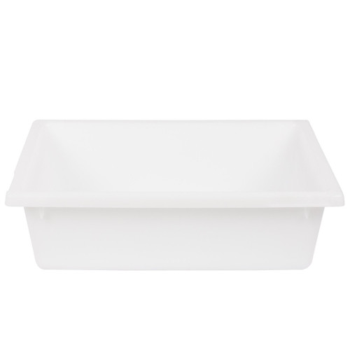 NALLY No.4 TUB CRATE WHITE, 13.5 L