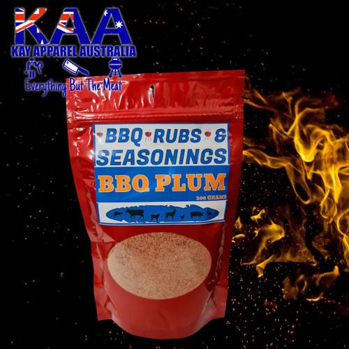 BBQ Rubs, Plum BBQ Rub Glaze 200 Grams