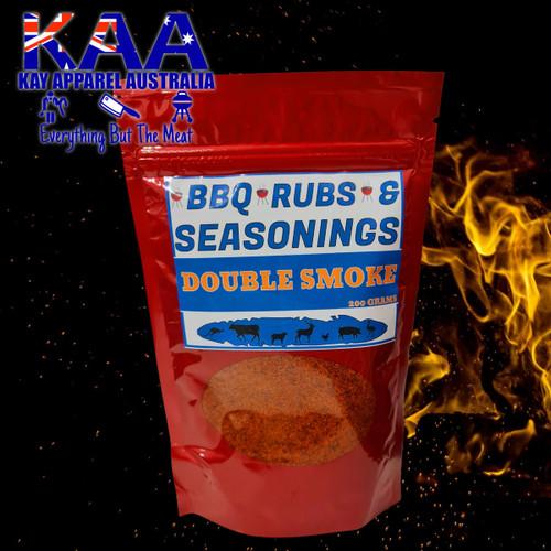 BBQ Rubs, Double Smoke BBQ Rub Glaze 200 Grams