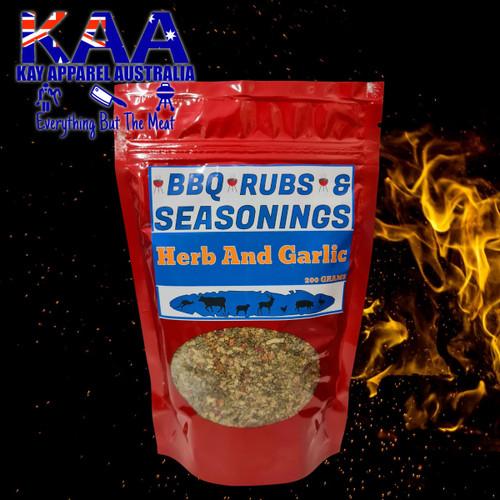 BBQ Rubs, Herb And Garlic BBQ Rub Sprinkle 200 Grams