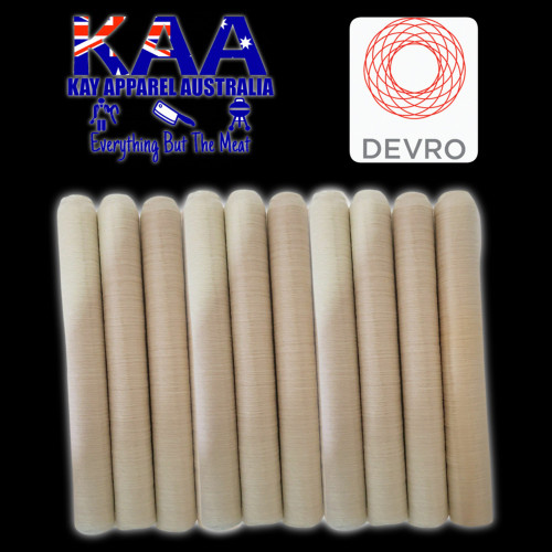 Devro 26mm collagen sausage casings pack of 10