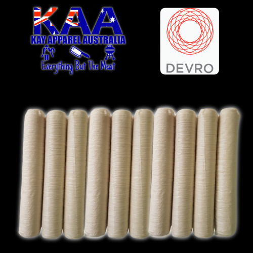 Devro 30mm collagen sausage casings pack of 10