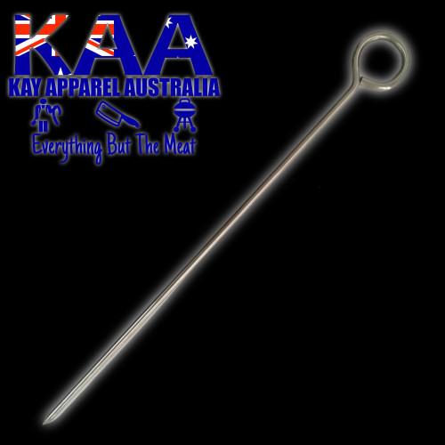 Butchers Roast Meat Rolling Needle Pin Skewer Stainless steel 35cm