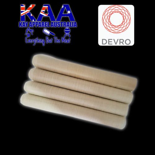 Devro 26mm collagen sausage casings pack of 4