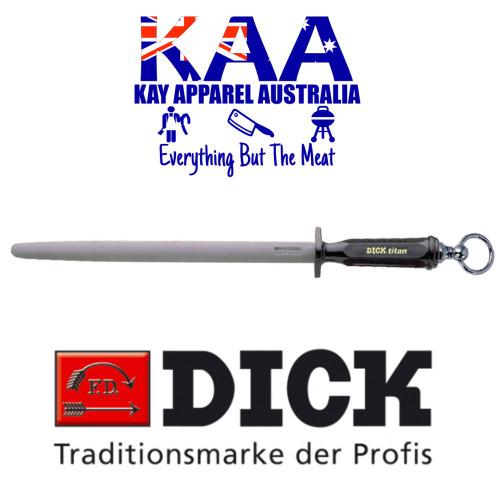 "F.Dick Dickoron Titan Oval Steel Special Superhard Coating 12"" 7 9103 30"