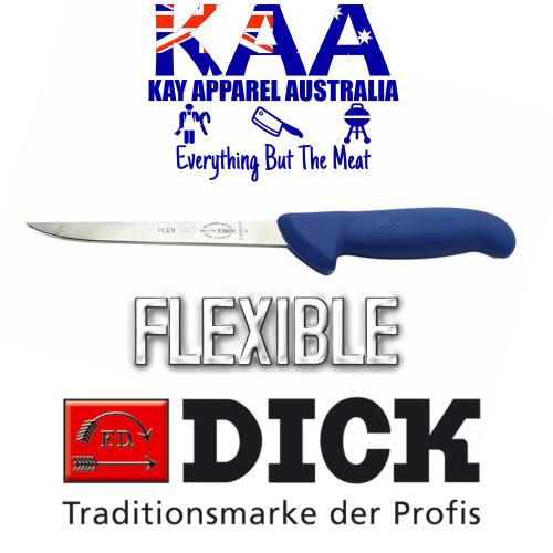 """F.Dick 6"""" ErgoGrip Narrow Flexible Straight Boning Knife 8 2980 15"""