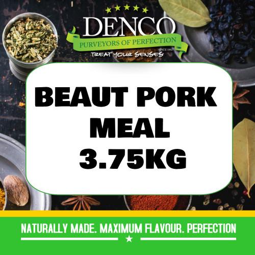 Denco Beaut Pork Sausage Meal, Premix, Seasoning 3.75KG BAG