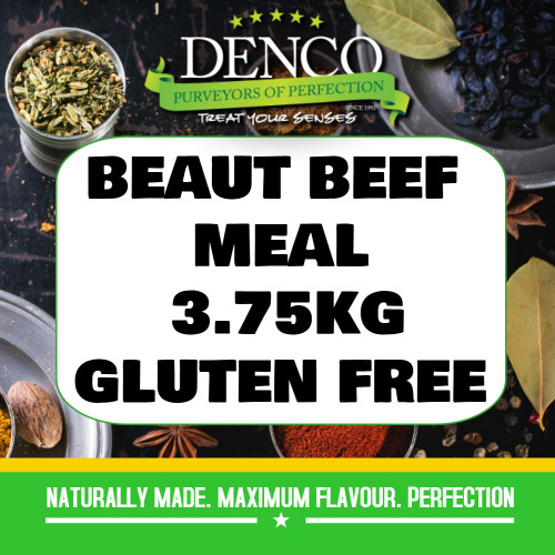 Denco Beaut Beef Sausage Meal, Premix, Seasoning 3.75kg Bag, Gluten Free