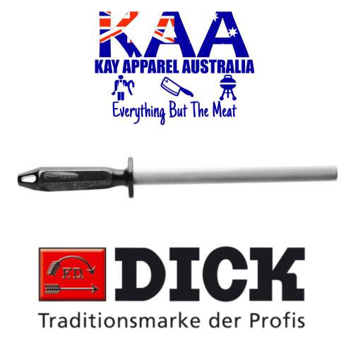"""F.Dick Oval Diamond Steel 10"""" NEW 2K HANDLE 7 3203 25 0-75"""