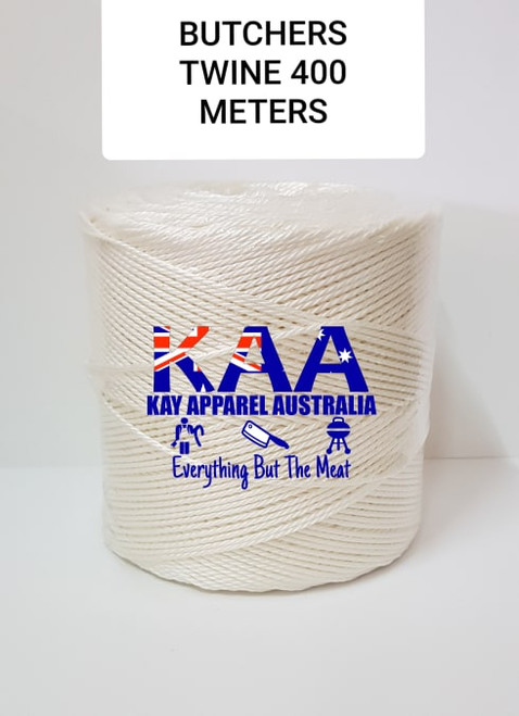 Butchers Twine 400M roll White Polyester Food Grade