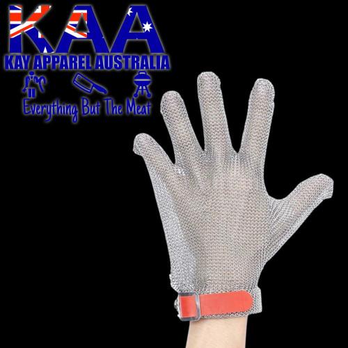 Butchers Mesh Glove Wrist Length 5 Finger