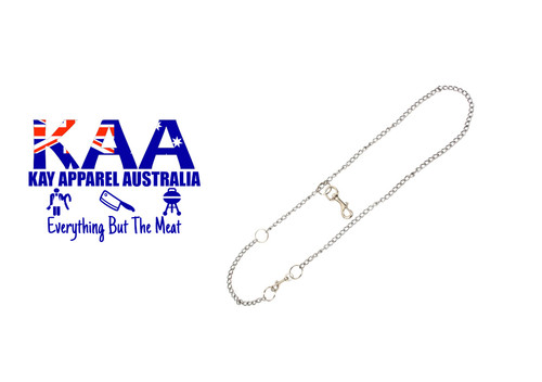 Butchers Stainless Steel Chain Belt