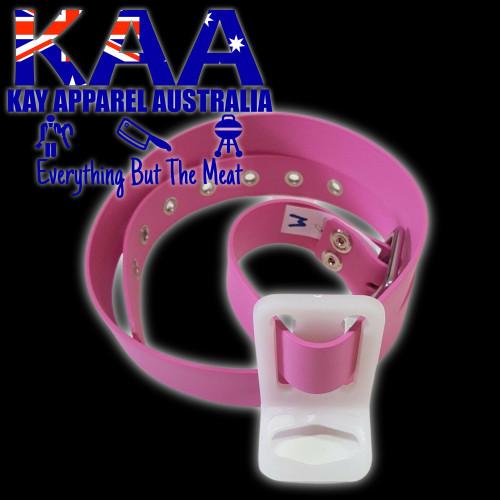 Butchers Knife Pouch Belt Pink, Sizes S,M,L,XL