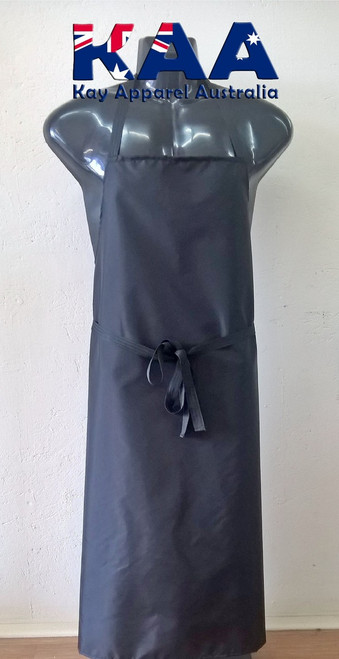 Black Water Resistant Nylon Cleaning Apron