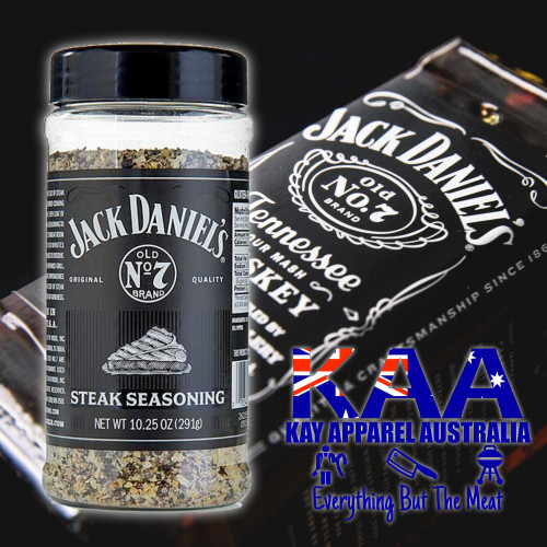 BBQ Rub, Jack Daniels BBQ Rubs - Steak Rub 291g