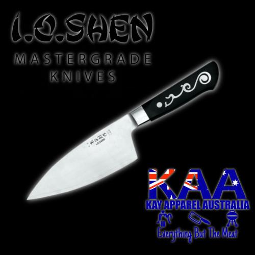 "I.O Shen Maoui Deba Chefs Knife - 170mm / 6 5/8"""