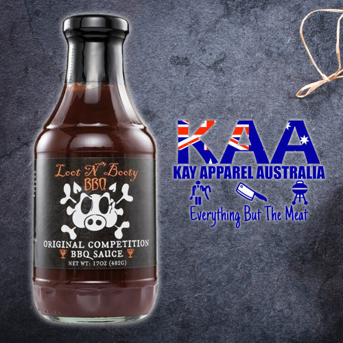 Loot 'N Booty Original Competition BBQ Sauce 482 Grams