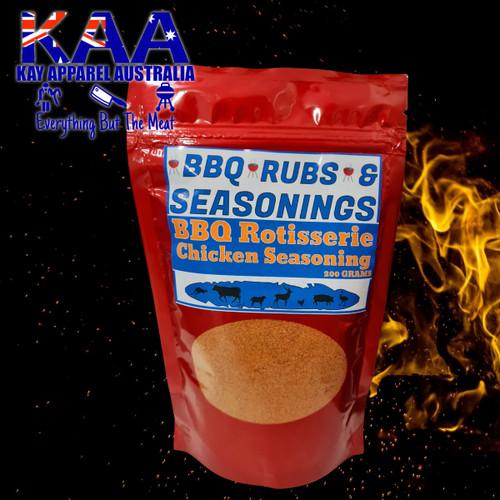 BBQ Rubs, Roast BBQ Rotisserie Chicken Seasoning 200 Grams