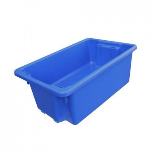 NALLY No.10 TUB CRATE BLUE 52lt