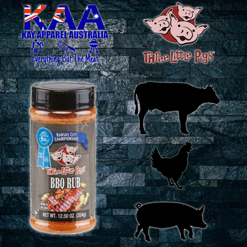 Three Little Pigs Kansas City Championship BBQ Rub 354g