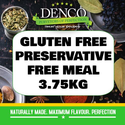 Denco Gluten Free, Preservative Free Beef RI Sausage Meal, Premix, Seasoning 3.75KG BAG