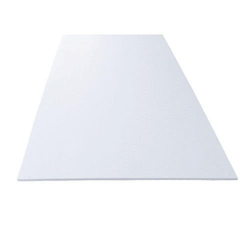 Cutting Board Thin Poly White 600 x 600mm