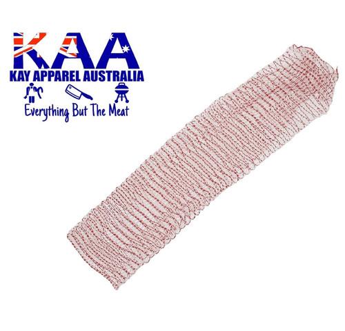 Elastic Meat Wrap Netting 2 Meters 180mm Red