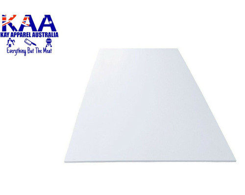 Cutting Board Thin Poly White 920 x 600mm