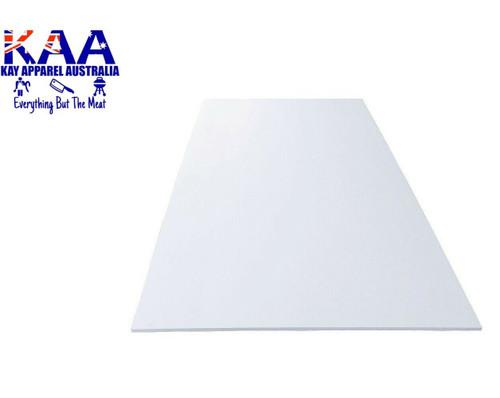 Cutting Board Thin Poly White 920 x 600mm