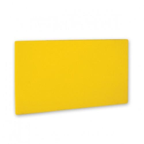 Cutting Board 508 x 381 x 13mm YELLOW