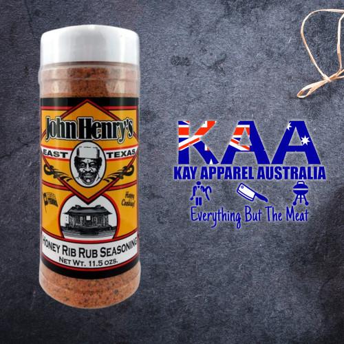 BBQ Rub, John Henry's Honey Rib Rub 326g