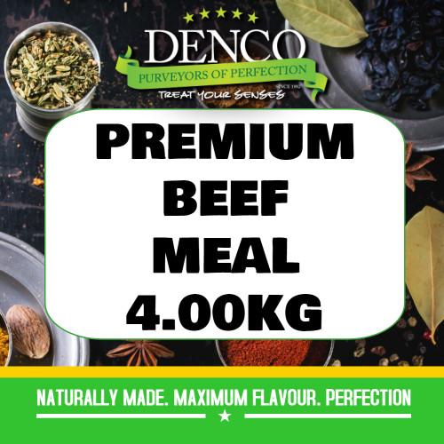 Denco Premium Beef Sausage Meal, Premix, Seasoning 4.00kg Bag