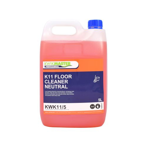 Kwikmaster Professional K11 FLOOR CLEANER NEUTRAL 5L, Cleaning Chemicals