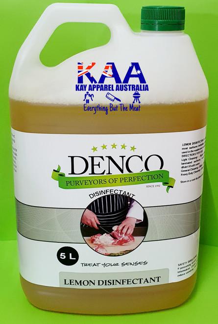 Denco Lemon Disinfectant 5L, Cleaning Chemicals