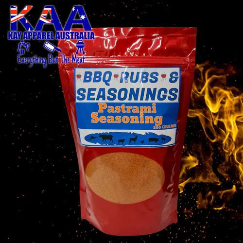 Pastrami Seasoning Rub 200 Grams