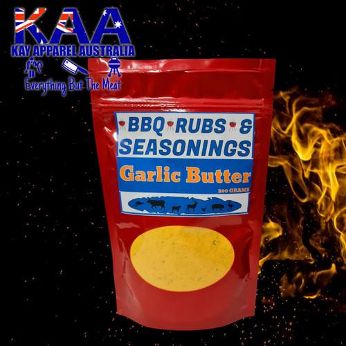 BBQ Rubs, Garlic Butter Glaze BBQ Rub 200 Grams