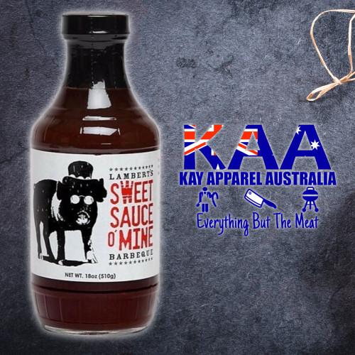 Sweet Sauce O' Mine Original BBQ Sauce 510 Grams