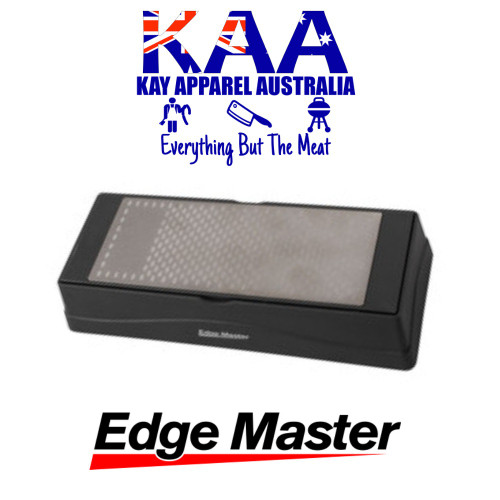 Edge Master Two-Sided Diamond Sharpening Stone, 360/600 Grit
