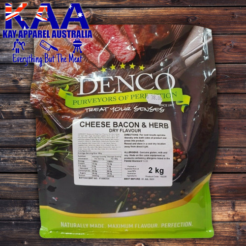 Denco Cheese Bacon & Herb Sprinkle 2kg