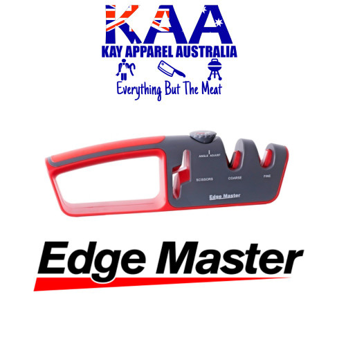 Edge Master Adjustable Angle Knife & Scissor Sharpener