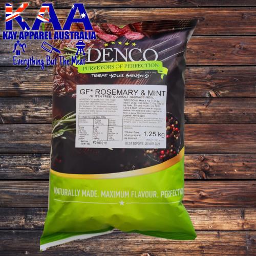 Denco Rosemary & Mint Gourmet Sausage Meal, Premix, Seasoning 1.25kg Bag Gluten Free