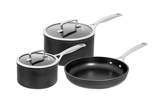Pyrolux Ignite 3 Piece Cookware Set Non-Stick QuanTanium