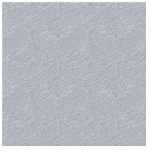 Paw Paper Lunch Napkin 33cm Pack of 20, 3 Ply, Inspiration silver
