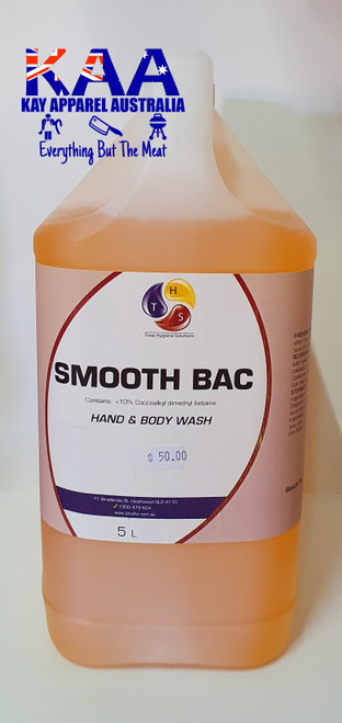 Total Hygiene Solutions Smooth Bac, Hand & Body Wash 5L, Cleaning Chemicals
