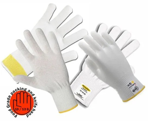 Cut Resistant Food Grade Gloves Level 5